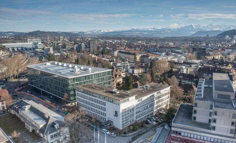 Gebäude der Zahnmedizinische Kliniken der Universität Bern - zmk bern